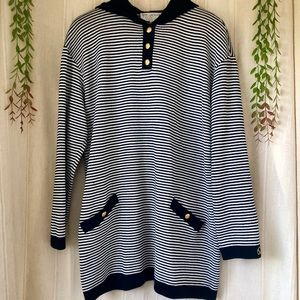 St. John Santana Knit Rare Hooded Sweater